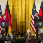"""Barack Obama, despre criza migranților: Angela Merkel se află """"de partea bună a istoriei"""""""