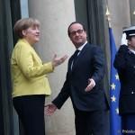 Angela Merkel și Francois Hollande, dineu cu președintele Parlamentului European la Strasbourg. Germania și Franța nu sunt deschise la concesii privind BREXIT