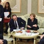 SUMMIT MINSK. Vladimir Putin anunță că s-a ajuns la un acord pentru o încetare a focului în Ucraina. Merkel: Nu ne facem nicio iluzie
