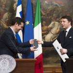 Tsipras își asigură sprijinul Italiei înaintea reuniunilor cu Uniunea Europeană