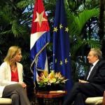 Federica Mogherini, vizită oficială istorică la Havana: UE și Cuba au semnat un acord bilateral comercial