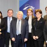 Reprezentanții PNL s-au întâlnit cu președintele PPE, Joseph Daul