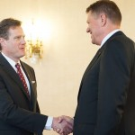 Klaus Iohannis, după întâlnirea cu delegaţia SUA: IT-ul și energia, pe lista de priorităţi