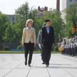 """Miniștrii Apărării din Norvegia și Germania, """"doamnele de fier"""" din NATO"""