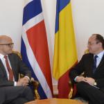 """Bogdan Aurescu, întrevedere cu ministrul norvegian pentru Spațiul Economic European: """"Invităm Norvegia să aloce personal pentru centrele de comandă NATO din România"""""""