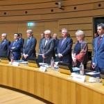"""Consiliul UE a lansat discuțiile despre diplomația energetică. Federica Mogherini: """"Am arătat unitate prin extinderea sancțiunilor față de Rusia, iar prin diplomație energetică ne vom apăra mai bine interesele comune"""". Reacția lui Bogdan Aurescu"""