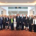 VIDEO Președintele Klaus Iohannis, imagini de la întâlnirea cu ambasadorii UE