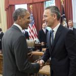 """După ocazia pierdută în martie, Obama și Stoltenberg s-au întâlnit la Casa Albă: """"Împreună implementăm cea mai mare reconsolidare militară a sistemului nostru de apărare comună de la sfârșitul Războiului Rece"""""""