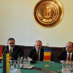 """Vizita lui Bogdan Aurescu în Ungaria: """"Comisia Dunării trebuie să contribuie la dezvoltarea transporturilor în Europa"""""""