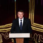 """Președintele Klaus Iohannis a participat la concertul aniversar """"PNL 140 de ani de viziune, onoare şi patriotism"""""""