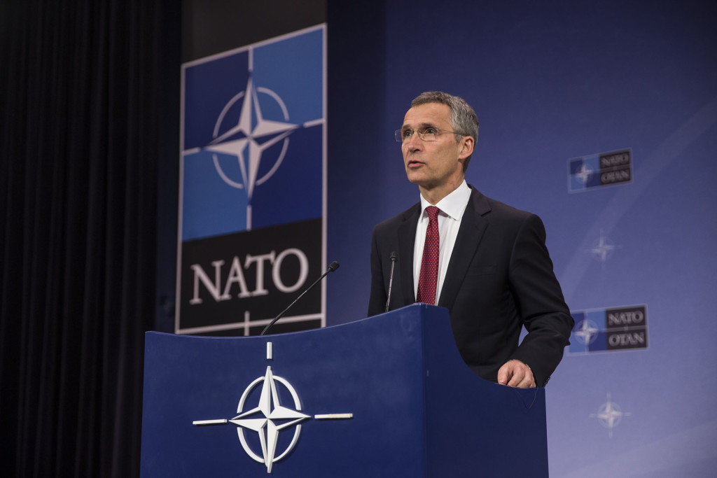 Pre-ministerial press conference by NATO Secretary General Jens Stoltenberg