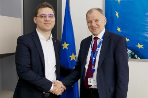 Victor NEGRESCU meets with Vytenis ANDRIUKAITIS - EU Commissioner for Health and Food Safety