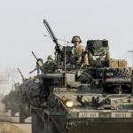 Primele trupe NATO au sosit în Estonia pentru a descuraja agresiunea rusă