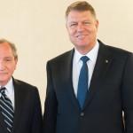 Președintele Klaus Iohannis s-a întâlnit cu George Friedman, fondatorul companiei de consultanţă Stratfor