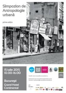 Afis Simpozion Antropologie urbana