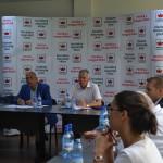 Întâlnire între liderii Uniunii Democrate Maghiare din România și reprezentanții Coaliţiei Naţionale pentru Absorbţia Fondurilor Structurale