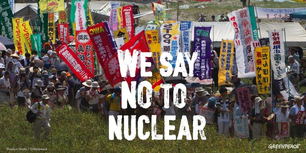 nuclear japonia greenpeace