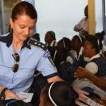 Cine este Raluca Domuța, românca cea mai bună poliţistă din lume, după activitatea desfăşurată în Haiti