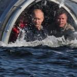 Vladimir Putin s-a scufundat cu un batiscaf în Marea Neagră. Acesta acuză din nou Ucraina de escaladarea conflictului