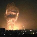 Exploziile de la Tianjin (China): S-a cerut evacuarea locuitorilor din zonă. În depozitele explodate se păstra cianură