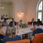 Întâlnire oficială de lucru între delegația Departamentului de Luptă Antifraudă și reprezentanții Coaliţiei Naţionale pentru Absorbţia Fondurilor Structurale şi Modernizarea României