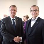 Klaus Iohannis, întrevedere la New York cu președintele Estoniei, Toomas Hendrik Ilves