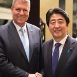 Shinzo Abe, în premieră în România. Premierul Japoniei se întâlnește marți cu președintele Klaus Iohannis pentru consolidarea relațiilor bilaterale