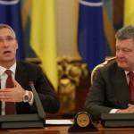 Întrevedere Stoltenberg – Poroshenko: NATO a devenit un adevărat partener și prieten al Ucrainei