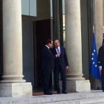 """Întrevedere Martin Schulz-Francois Hollande, la Paris: """"Este nevoie de un răspuns comun la criza refugiaților"""""""