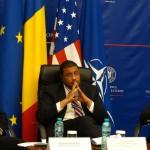 """VIDEO Dialoguri@MAE – """"Apărarea împotriva rachetelor balistice. Contribuția României la un proiect transatlantic strategic"""". Frank Rose: SUA vor coopera cu România pentru a se asigura că acest sistem este protejat împotriva unor ameninţări"""