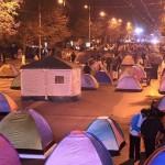 Proteste la Chișinău. Manifestanții cer alegeri parlamentare anticipate