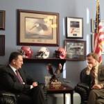 Parteneriatul Strategic România-SUA, discutat de ambasadorul George Maior cu congresman-ul republican Mike Rogers