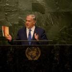 """Benjamin Netanyahu, avertizare puternică de la tribuna ONU: """"Israel nu va permite Iranului să intre în clubul țărilor care dețin arme atomice"""""""
