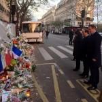 IMAGINEA ZILEI vine de la Paris. Francois Hollande și David Cameron, împreună împotriva flagelului terorist