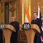 Pact nuclear și acorduri comerciale în valoare de 12,7 miliarde de euro agreate de Marea Britanie și India