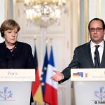 Întâlnire la Berlin: Angela Merkel şi Francois Hollande vor prelungirea sancţiunilor contra Rusiei