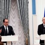 Francois Hollande, avertisment diplomatic pentru Rusia: Îmi pun întrebarea dacă ar trebui să primesc vizita lui Vladimir Putin pe 19 octombrie