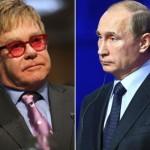 """Sir Elton John și Vladimir Putin discută detaliile unei întâlniri la Moscova: """"Încercăm să găsim o dată"""""""