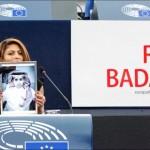 Premiul Saharov a fost înmânat soției bloggerului Raif Badawi, încarcerat în Arabia Saudită