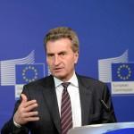 Comisarul european Günther Oettinger cere sancțiuni împotriva statelor care nu și-au îndeplinit țintele bugetare