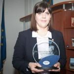 """Laura Codruța Kovesi – câștigătoarea premiului """"Europeanul Anului"""" 2016, oferit de Reader's Digest"""