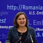 Victoria Nuland la Bucureşti: Susţinem DNA, dar SUA nu selectează propunerile pentru şefia Parchetelor. E treaba liderilor români să o facă