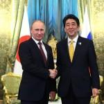 Întrevedere între Vladimir Putin și Shinzo Abe la Moscova, înaintea summit-ului G7 din Japonia