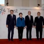 Grupul țărilor de la Vișegrad se reunește înaintea Consiliului European. Cele patru state solicită protejarea strictă a frontierelor UE