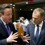 BREXIT: Donald Tusk propune limitarea ajutoarelor sociale pentru imigranții care merg în Marea Britanie. Cameron îndeamnă la noi progrese