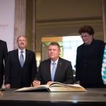 VIDEO Klaus Iohannis, întrevedere cu președintele Parlamentului landului Bavaria din Germania