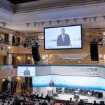 VIDEO Klaus Iohannis la Conferința de Securitate de la München: Zona Mării Negre, crucială pentru întreaga securitate euroatlantică. România va continua să fie o sursă de securitate la frontiera de est a NATO și a UE