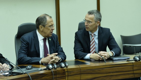 NATO Secretary General meets Minister of Foreign Affairs of the Russian Federation