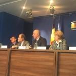 VIDEO Europarlamentarii din Comisia pentru Transport a PE, întâlnire la București cu Ministrul Transporturilor. Marian Jean Marinescu: Conectarea Moldovei de Transilvania și a Banatului de Oltenia trebuie să fie priorități de infrastructură