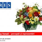 Studiu IRES: 85% dintre români oferă cadouri de 8 Martie